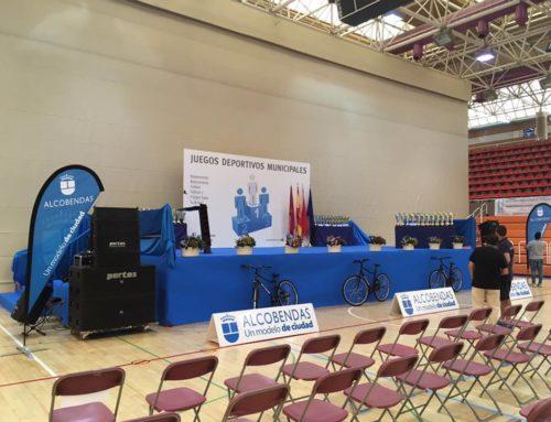 Evento juegos deportivos municipales Alcobendas